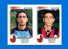 CALCIATORI PANINI 1997-98 Figurina-Sticker n. 484 - SQUIZZI-LONGO LUCCHESE -New