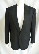 BRIONI ITALY CLASSIC BLACK SINGLE BREASTED 2 BUTTON BLAZER 39 40 R