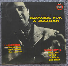 Django Reinhardt Stéphane Grappelly Requiem for a Jazzman U.K 1964