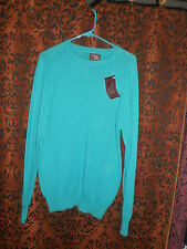 Cambridge Classics, men'sNWT long ,stretchy jade knit style sweater, size M