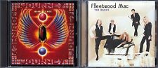Greatest Hits by Journey (CD, 1996) & The Dance by Fleetwood Mac (CD, 1997)