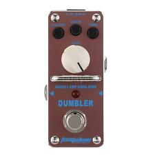 AROMA ADR-3 Dumbler Amp Simulator Mini Single Electric Guitar Effect Pedal M2H7