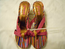 Womens Platforms & Wedges Shoes Sandals Heels Sz 10 NEW Groove Alexis