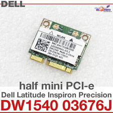 Wi-Fi WLAN WIRELESS CARD scheda di rete PER DELL MINI PCI-E DW1540 03676J NEW