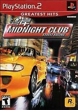 Midnight Club: Street Racing (PS2), Excellent Playstation 2 Video Games