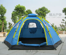 Outdoor Camping Travel 5-8 person Double layer Automatic Instant Pop Up Tent New