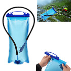 2L PEVA Water Bag Backpack Bladder Hydration Pack Hiking Camping Cycling US