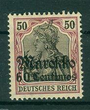 Alemán Oficinas de correos en el extranjero - Marruecos - 53 II