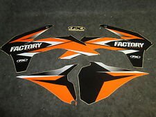 KTM SX/SXF 125-450 2013-2015 Factory FX racing orange/black graphics kit GR1093