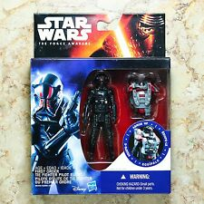 """Star Wars The Force Awakens Armor Up First Order TIE Fighter Pilot Elite 3.75"""""""