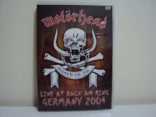 DVD   MOTORHEAD   LIVE AT  ROCK AM RING  GERMANY  2004       DVD