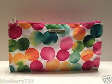 Brand New ! CLINIQUE Bright  dot in Multi-Color Cosmetic Makeup Bag
