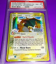 Pokemon Charizard 1st ed English Ex Crystal Guardians Rev. Foil  Psa 8