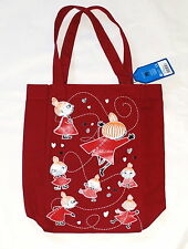 Moomin Canvas Tote Bag Little My Red Martinex