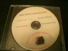 Rare Silent Film Collection #17 Ford Sterling, Leo Maloney, Billy Bletcher