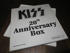Kiss 20th Anniversary LP Box -  empty  - very good shape !!!