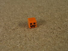Lego City Orange Cube Minecraft Pumpkin Jack O' Lantern Snow Golem  NEW