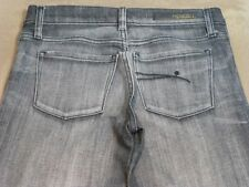 064 WOMENS NOBODY CHAR STRETCH JEANS SZE 26 EX-COND, $220 RRP.