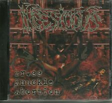 INCESTUOUS-BRASS KNUCKLE ABORTION-CD-death-metal-cinerary