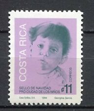 35410) COSTA RICA 1994 MNH** Christmas 1v Scott# RA113