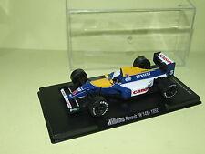 WILLIAMS RENAULT FW14B N. MANSELL CHAMPION 1992 FABBRI