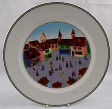 Villeroy & and Boch DESIGN NAIF LAPLAU No4 NEW dinner plate 27cm Village