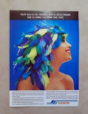D384 - Advertising Pubblicità- 1988 - VIASA LINEE AEREE VENEZUELANE