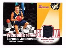 2005-06 Bowman Welcome To The Show Relics Sarunas Jasikevicius