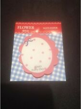 *Vintage Style Mini Oval Shaped Post-it Notes With Bows*