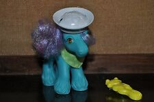 Vintage My Little Pony Salty Big Brother with Original Hat, Bandana & Brush