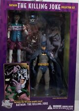 DC Direct Batman Joker Figures Killing Joke Collector Set With Graphic Novel