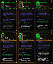 Diablo 3 RoS PS4 [SOFTCORE] - All Wizard Ancient Class Sets [Check Images]