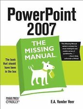 PowerPoint 2007 by E. A. Vander Veer (2007, Paperback)