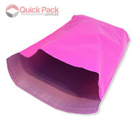 Low Prices -All Sizes Plastic Pink Mailing Bags Strong Postage Postal Mail Post
