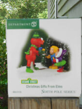 DEPT 56 NORTH POLE VILLAGE Accessory CHRISTMAS GIFTS FROM ELMO NIB