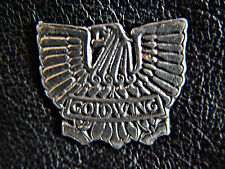Goldwing  Gold Wing Classic Vintage  Motorcycle Vest Pewter Biker Pin 1082