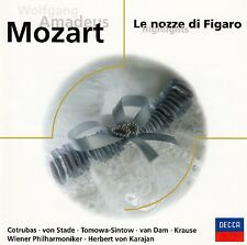 MOZART : LE NOZZE DI FIGARO - HIGHLIGHTS / CD (DECCA RECORDS 1979) - NEUWERTIG