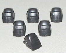 LEGO LOT OF 6 NEW DARK PEARL GREY WELDING MASKS PIECES