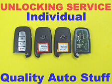 Unlock Hyundai Kia Smart Key FOB Proximity Remote Reset Reflash Virgin Service
