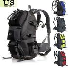 40/50L Outdoor Backpack Hiking Bag Camping Travel Waterproof Pack Mountaineering