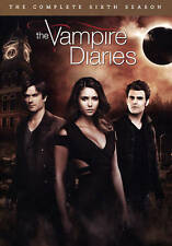 The Vampire Diaries: The Complete Sixth Season 6 (DVD, 2015, 5-Disc Set)