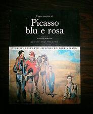 L'OPERA COMPLETA DI PICASSO BLU E ROSA# Rizzoli 1968#1A Ed.#I Classici dell'Arte