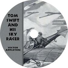 Tom Swift and His Sky Racer, Victor Appleton Sci Fi Action Audiobook on 1 MP3 CD