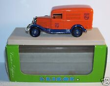 ELIGOR FORD V8 CAMIONNETTE 1934 DELIVERY SERVICE PHILIPS ORANGE REF 1505 IN BOX