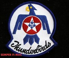 "F-16 THUNDERBIRDS LOGO SEAL US AIR FORCE 3"" HAT PATCH NELLIS AFB PILOT F-16 WOW"