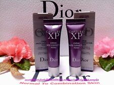 [Dior] Capture XP Ultimate Wrinkle Correction Creme (3ml x2) (Normal to C Skin)