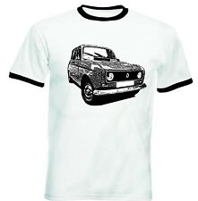 RENAULT 4L 1986 INSPIRED - NEW COTTON TSHIRT - ALL SIZES IN STOCK