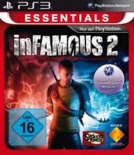 PlayStation 3 Infamous 2 Platinum-Essential como nuevo