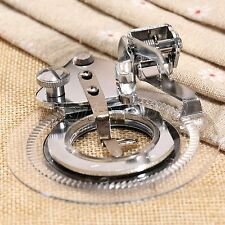 Flower Stitch Circular Embroidery Presser Foot For Janome Brother Sewing Machine