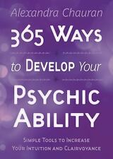 NEW 365 Ways to Develop Your Psychic Ability- FREE SHIPPING
